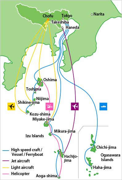 Island Access TAMASHIMAtokyo