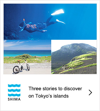 Three stories to discover on Tokyo's islands
