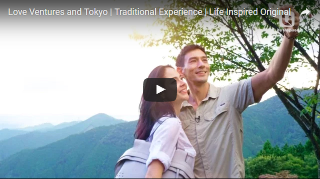 Love Ventures and Tokyo | Traditional Experience | Life Inspired Original
